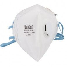 Benehal D363 FFP3 Particulate Respirator NR D Folded Mask with Valve 10Pcs/box