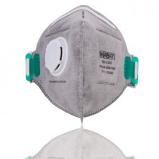 MASkin 8285 KN95 Activated Carbon Particulate Respirator with Vavle