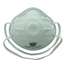 MC10V N95 Cup Type Mask Breathing Valve Particulate Respirator 15PCS/Box