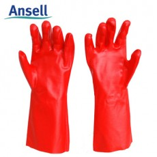 Ansell 15-554 PVA Solvent Resistant Gloves Laboratory Chemical Resistant Gloves