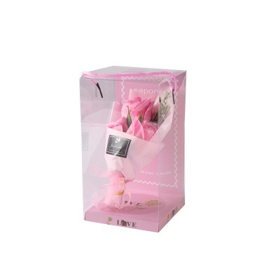 Saponin Christmas Gift Soap Flower Gift Box Rose Creative Gift Valentine's Day Gift Soap Bouquet