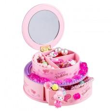 Creative Birthday Cake Decoration Ornaments Music Box Music Box Children's Vanity Mirror Jewelry Box Boutique