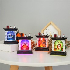 Halloween Decoration Props Pumpkin Lantern Night Light Creative Halloween Decoration Desktop Ornaments Lights