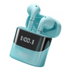 757TWS Digital Display Bluetooth Headset Semi-in-ear Binaural True Wireless Long Standby Invisible Headse