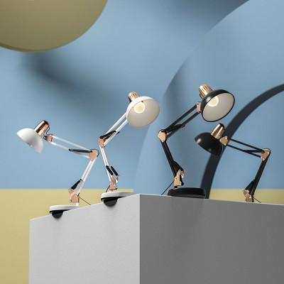American Metal LED Desk Work Lamp Long Arm Folding Metal Led eye Protection Learning Lamp