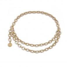 Jewelry Personality Retro Embossed Portrait Body Chain Business Sexy Multi-layer Chain Tassel Waist Chain
