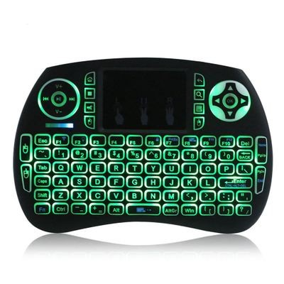 Colorful Backlight 2.4GHz Keyboard Air Mouse Touchpad for Android TV BOX PC