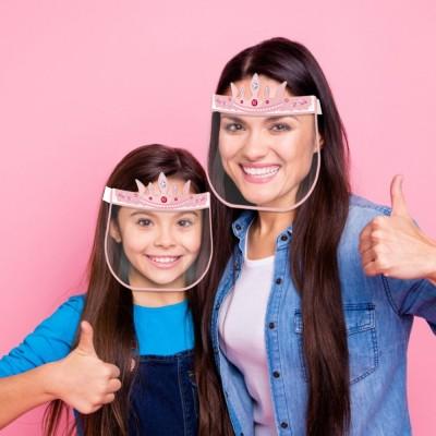 FDA International CE Certified Transparent Child Protective Face Mask Anti-fog, Anti-epidemic And Anti-droplet Screen MOQ 200pc