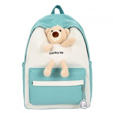 2020 High School Students Nylon Backpack  Large Capacity Cute Backpack School Bag For Female