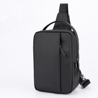 Cross-Border Creative Chest Bag Outdoor Leisure USB Bag Multi-Function Small Satchel For Men