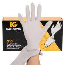 KLEENGUARD G10 Gray Powder-free Nitrile Disposable Gloves Food Grade Fingertip Hemp Noodle