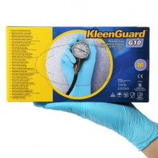 KLEENGUARD G10 57371 Blue Nitrile Disposable Gloves