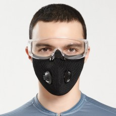 KN95 Cycling Mask Outdoor Running Mask Anti-smog Anti-dust Bicycle Men And Women Protection Adjustable Breathing Valve MOQ 5pcs
