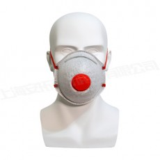 KN95 With Valve High Filtration Level 99 Melting And Spray Cloth Industrial Dustproof And Gas Proof Cup Activated Carbon Mask MOQ 50PCS