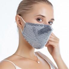 Sparkles Pure Cotton Sunscreen Mask Anti-dust Haze Breathable Stylish Adult Mask MOQ 20 PCS