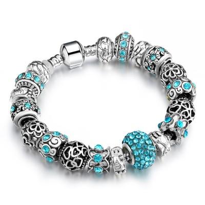 2021 Pandora Fantasy Gemstone Bracelet Multi-element Design Young Trendy For Girls