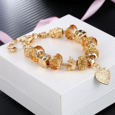 Colorful Glaze Gemstone Bracelet Dream Sweet Princess Style Bracelet For Women
