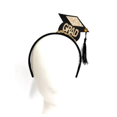 Rainer Formal Graduation Hair Accessories Mini Cap Tassel Headband Student Decorations