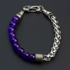 2020 Retro And Fashional Tiger Stone Bracelet Stainless Steel For Men And Women
