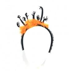 Halloween Headdress Evil Hand Headband Fungus Lace Headband Ornament For Men And Women