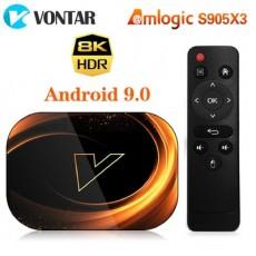 VONTAR X3 Amlogic S905X3 Android 9.0 TV Box 8K Media Streamer
