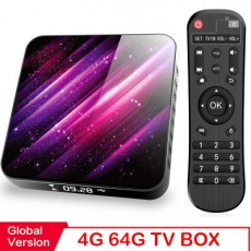 TP03 H616 Android 10.0 TV BOX 4K HD Network Player 4+32GB/64GB