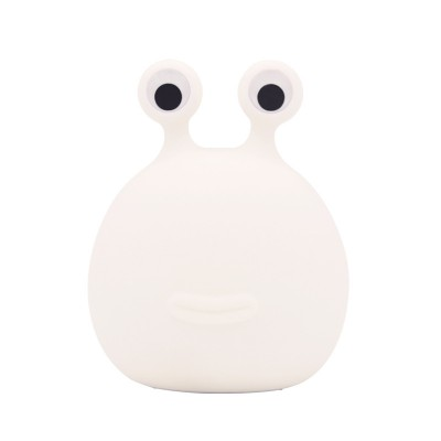 Silicone Night Light Cartoon USB Charging Timer Soft Light With Sleeping Eye Protection Touch Table Lamp
