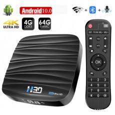 H30 RK3318 Android 10.0 TV BOX 4K 4GB/64GB
