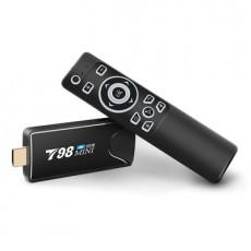 T98 Mini HDMI Dongle RK3318 USB 2.4G Wifi+BT