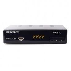 iBRAVEBOX F10S PLUS TV Box H.265 IPTV DVB-S2 POWERVU BISSKEY