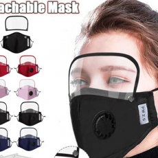 PM2.5 Polyester Anti Haze Removable Mask Can Be Repeatedly Cleaned with Eye Mask