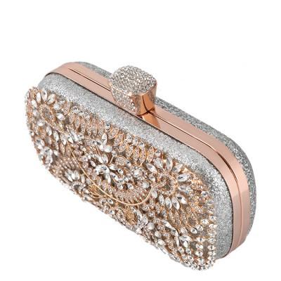 New Style Banquet Bag Ladies Luxury Handbag Studded With Diamonds Evening Bag Handbag MOQ 1 PCS