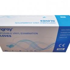 Hongray Disposable Vinyl Gloves EN455 Examination Gloves with CE FDA