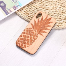 Rosewood Solid Wood Laser Carving Tpu Dandelion Mobile Phone Case For iPhone11/XR/XM78P Samsung S10/s10p