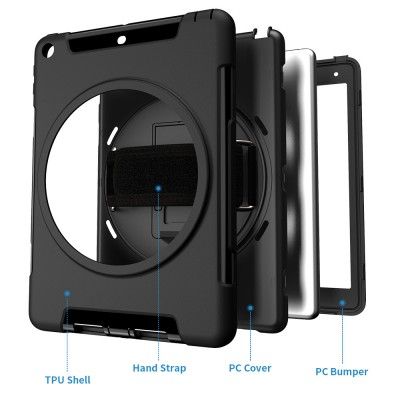 Suitable For 2017 New Ipad 9.7 Protective Cover 2018 ipad Outdoor Multifunctional Engineering Machine Protective Shell