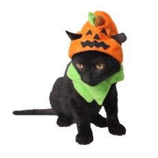 Halloween Pet Supplies Carnival Ghost Festival Dog Hat Halloween Cat Accessories Trick Or Treat Pumpkin Hat