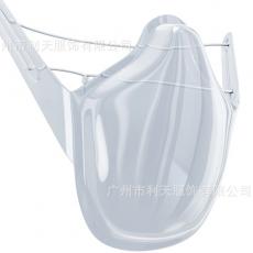 Dust Proof Transparent Three-dimensional Mask Lip Language Anti Fog Protective Mask