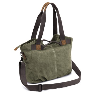 Canvas Handbag Retro Literature Art One-shoulder Diagonal Ladies Canvas Bag Tote Bag