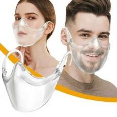Protective PC Transparent Face Shield Anti-splash Isolation Protective Face Mask