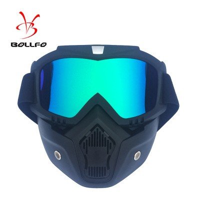 BOLLFO Harley Retro Face Mask Goggles Motocross Goggles Tactical Goggles Windproof Glasses