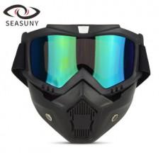SEASUNY Retro Harley Riding Goggles Motocross Goggles Goggles Windproof Helmet Goggles