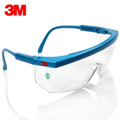 3M 1711 Industrial Protective Glasses Anti-fog and Anti-impact Safety Goggles