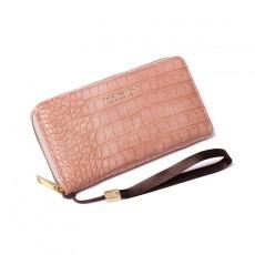 Long Mobile Phone Bag Multi-card Slot Large Capacity Crocodile Pattern Clutch For Women