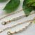 Fashion simple mask rope pearl glasses chain metal chain antiskid glasses chain 2