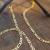 Fashion simple mask rope pearl glasses chain metal chain antiskid glasses chain 1