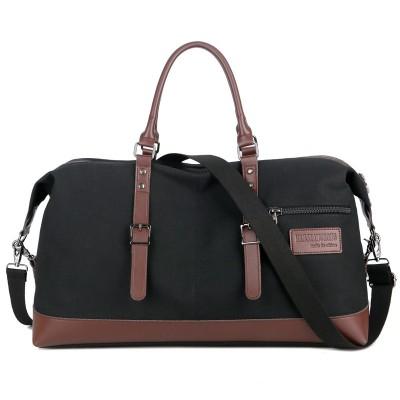 Large-capacity Men's Hand Travel Bag Environmental Protection Waterproof Canvas Messenger Shoulder Bag