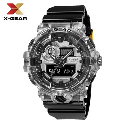 Hot Selling Creative Watches Men's Electronic Watch Student Sports Watch Quartz Transparent Waterproof Watch