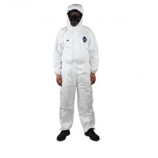 DuPont 1422A Protective Clothing Anti-static Clothing Siamese Hooded Dust-free Chemical Spray Paint Full Body Isolation Work Clothes