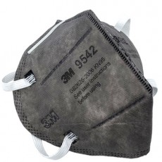 3M 9542 Particulate Respirator KN95 Flat Fold Activated Carbon Anti-particle Face Masks