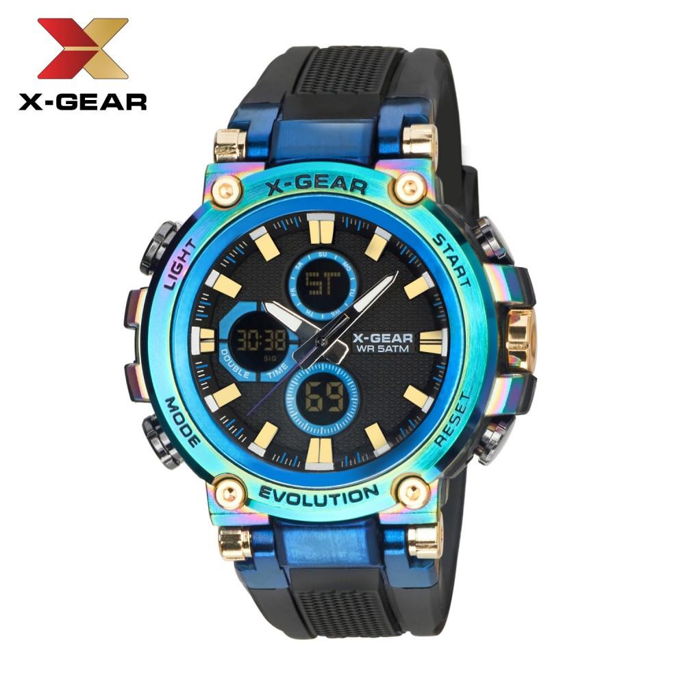 X-GEAR Neptune 3897 Hot Selling Men's Electronic Watch Multifunctional Fashion Waterproof Quartz Watch